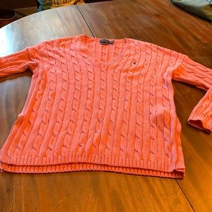 Polo by Ralph Lauren pink sweater.